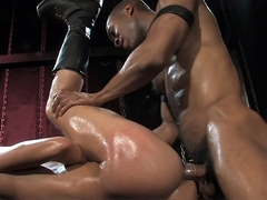 The interracial action continues with Element and Malik. It's all extreme, all-kink and all..