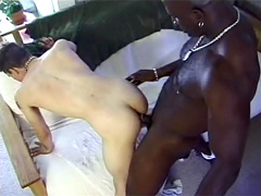 In the beginning of this video the hot interracial boys meet outside and start teasing each other,..
